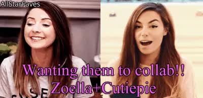 Watch Wanting Zoe and Marzia to collab one day!!!I made :3 GIF on Gfycat. Discover more collab, cutiepiemarzia, dont steal, i made this, manip gif, marzia bisognin, reblogg, request manip gif, zoe sugg, zoella GIFs on Gfycat