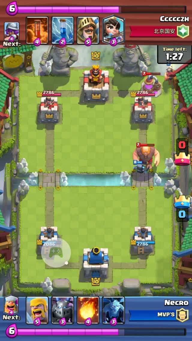 Watch and share Clash Royale GIFs and Mini Pekka GIFs by Pablo Rodriguez on Gfycat