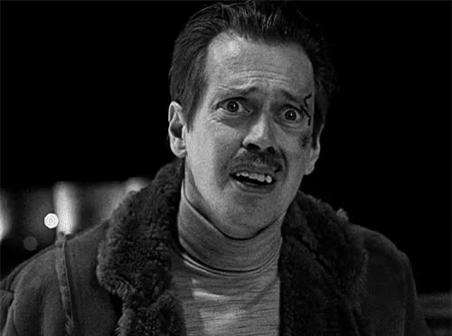 Watch and share Steve Buscemi As Carl Showalter Freaked Out Reaction From Fargo GIFs on Gfycat