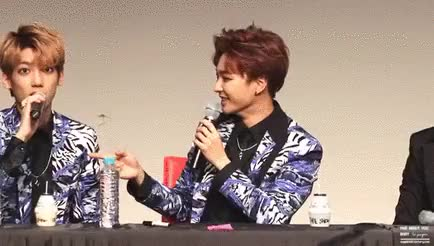 Watch and share Jeongmin Boyfriend GIFs and You Make Me Smile GIFs on Gfycat