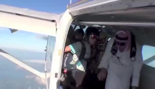 Watch and share Skydiving GIFs and Arab GIFs on Gfycat