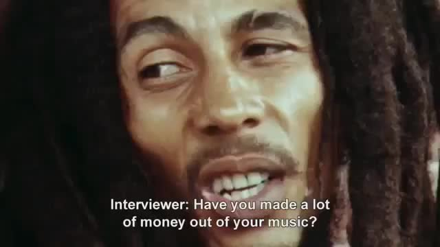 Bobmarley, money, interview, bob marley, celebs, vjeva, [Video] Bob Marley about Money GIFs