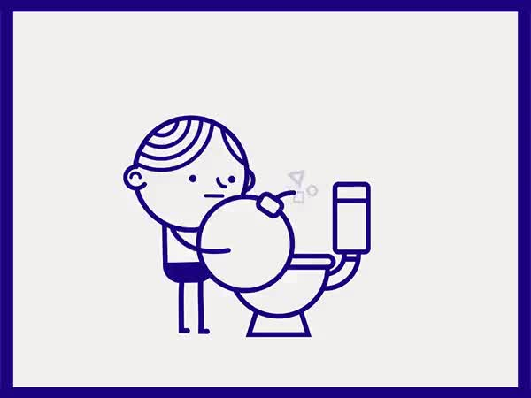 Watch and share Sitting On Toilet GIFs on Gfycat