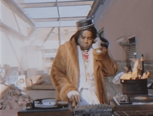 dj, dj grand wizard karate, kenan thompson, old school, rap, rap history, snl, soul crush crew, DJ Grand Wizard Karate - Rap History SNL GIFs