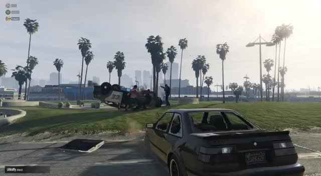 Watch Grand Theft Auto V 2019.04.03 - 22.52.09.04.DVR Trim Slomo GIF on Gfycat. Discover more grandtheftautov GIFs on Gfycat