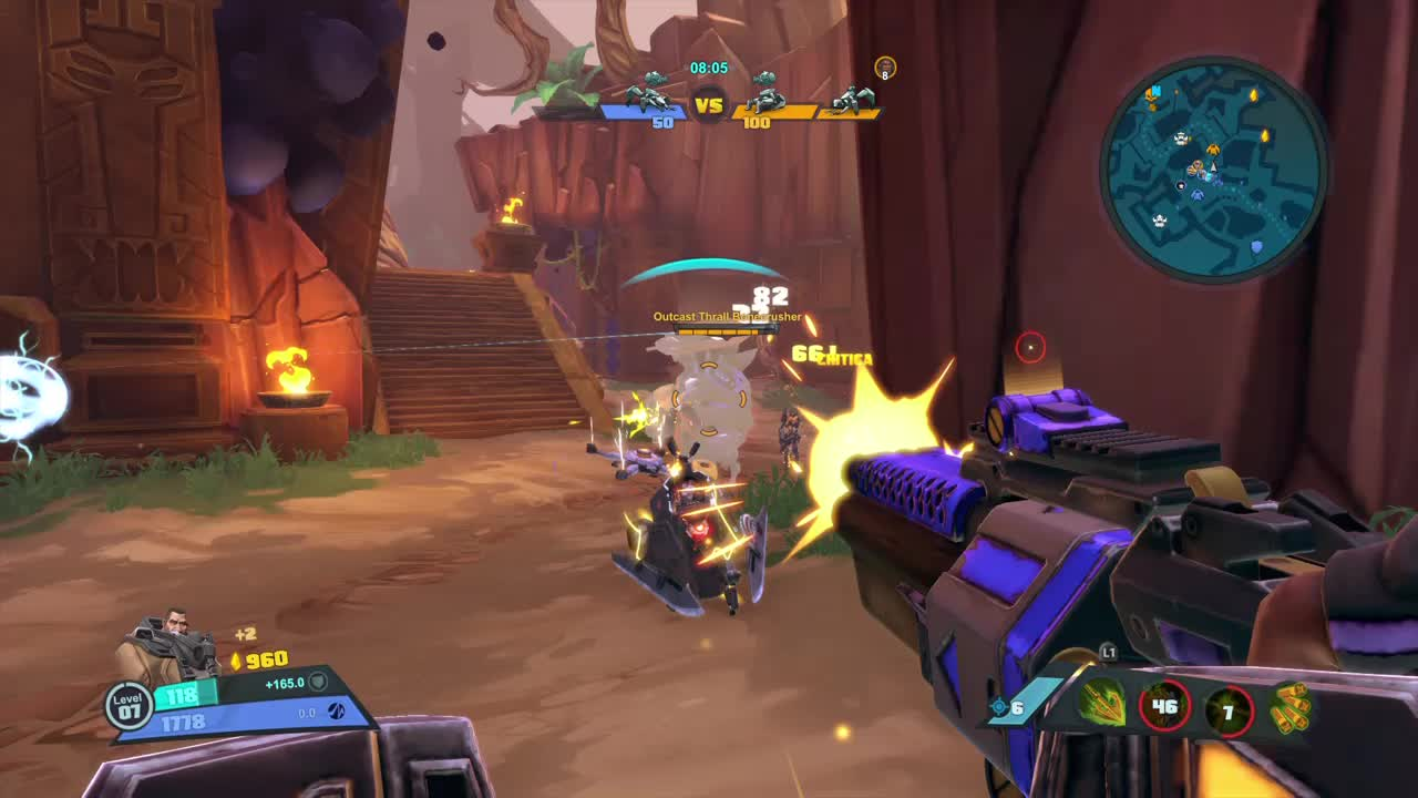 Battleborn, Gaming, Gearbox, I Hit, MOBA, No Escape, Papa Shotgun, Pulling You, Sexy AF, Battleborn - Ghalt hits GIFs