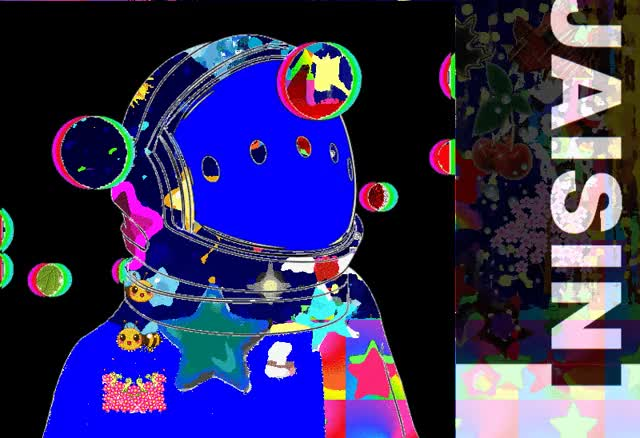Watch and share Spaceman Jaisini GIFs and Art Gif GIFs by Ryan ReModernist Keller on Gfycat