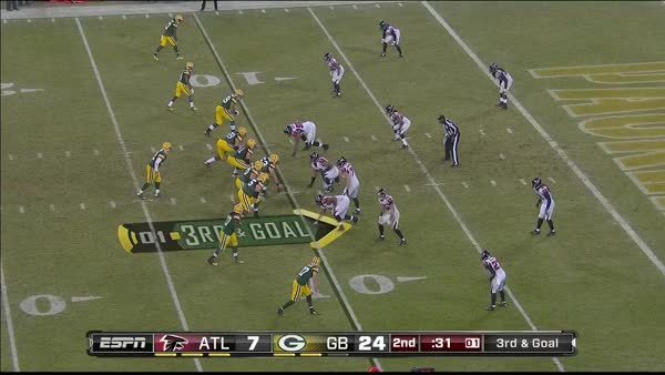 greenbaypackers, Nelson's first TD GIFs