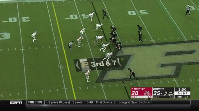 Ohio State Upset By Purdue College Football Highlights Gif Find