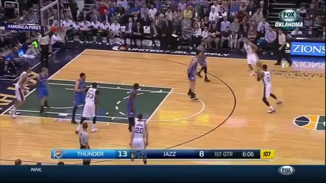 Watch Steven Adams gets Draymonded by the ball (reddit) GIF on Gfycat. Discover more StevenAdams, nba GIFs on Gfycat