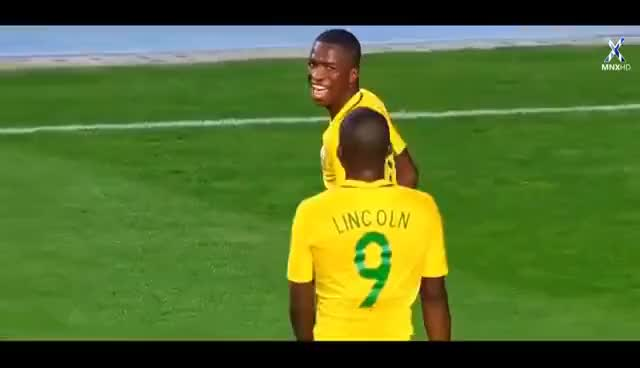 Watch and share Vinicius Junior 2016-17 ● Sombrero Skills, Assists & Goals | HD GIFs on Gfycat