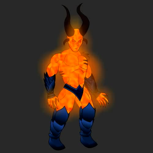 Watch and share Demon Boss Idle V3 GIFs by quazars on Gfycat
