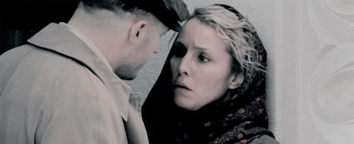 **, child 44, hardyedit, noomi rapace, tom hardy, tomhardyedit, The killer is still out there. I have to find him.           GIFs