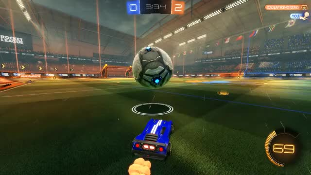 Watch and share Rocket League GIFs by mario2232 on Gfycat
