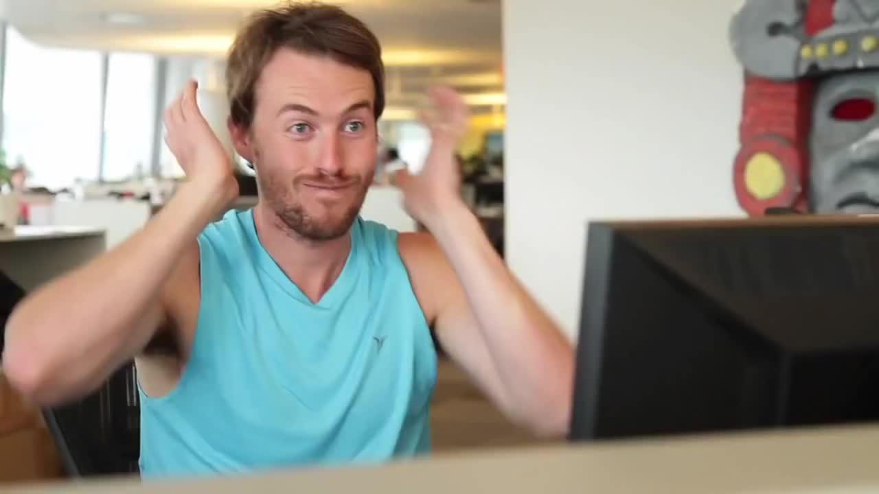 jakeandamir, Muscle Tee - Outtake (reddit) GIFs