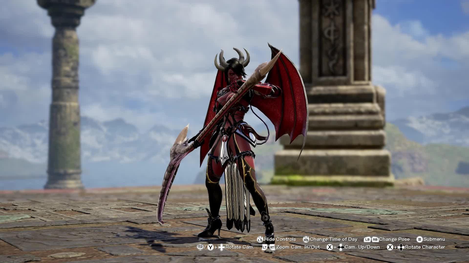 SoulCaliburVI, Demon Character GIFs