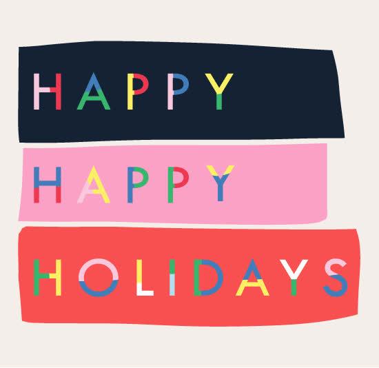 christmas, christmas spirit, festive, gabriella sanchez, happy holidays, holiday, holidays, merry christmas, tis the season, Happy Happy Holidays GIFs