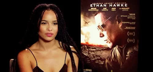 Watch this zoe kravitz GIF on Gfycat. Discover more :/, interview, meine, sorry for quality, zoe kravitz, zoë kravitz, zoë kravitz GIFs on Gfycat