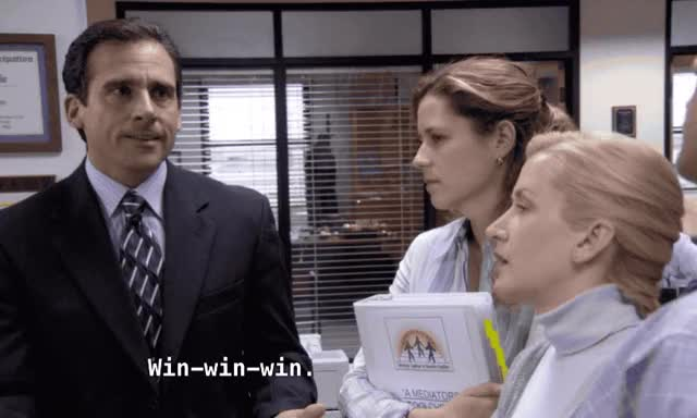 Watch this michael scott GIF by Pete Brown (@pauljonesb) on Gfycat. Discover more celebs, michael scott, steve carell, the office, win GIFs on Gfycat