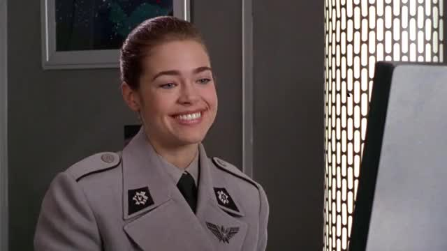 Watch and share Starship Troopers GIFs and Denise Richards GIFs by MikeyMo on Gfycat