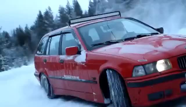 Watch and share CRAZY SANTA CLAUS DRIFTING IN NORTHERN FINLAND GIFs on Gfycat