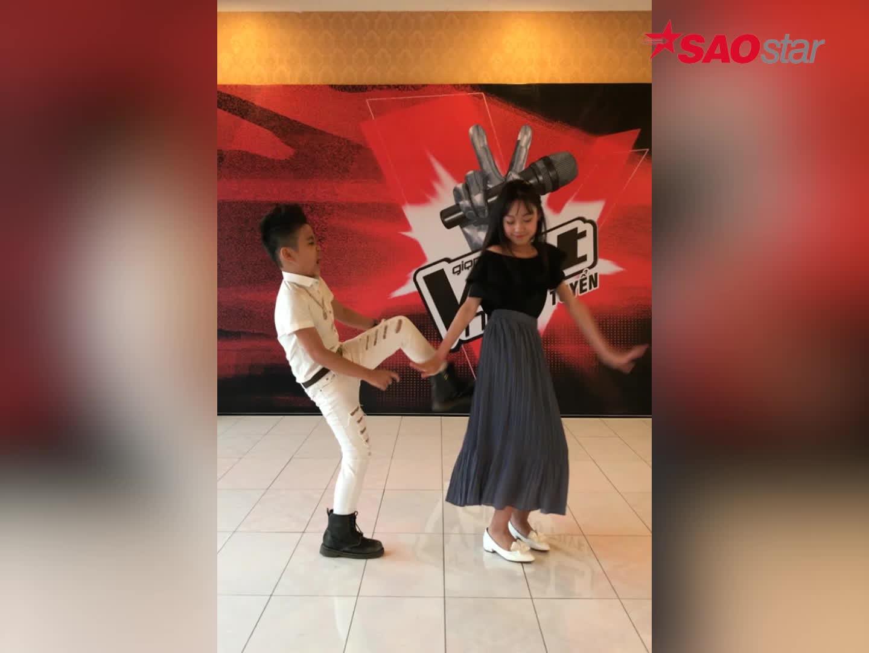 Quán quân Nhật Minh cùng Hà My, Milana tiếp sức cho thí sinh Giọng hát Việt nhí 2017