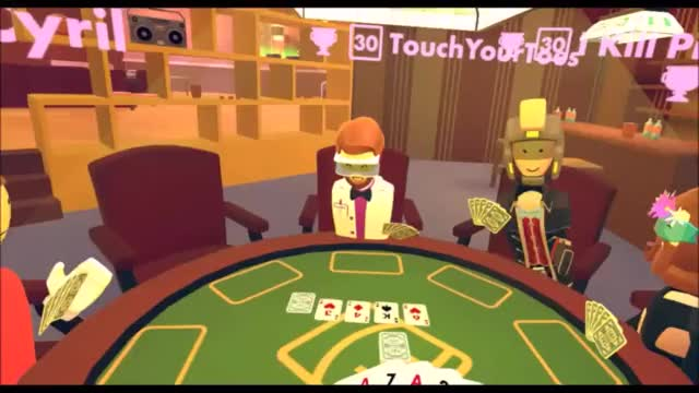 Watch and share Rec Room Poker GIFs on Gfycat
