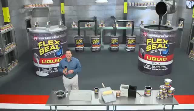 Watch and share Flex Seal LIQUID! Liquid Rubber In A Can! GIFs on Gfycat