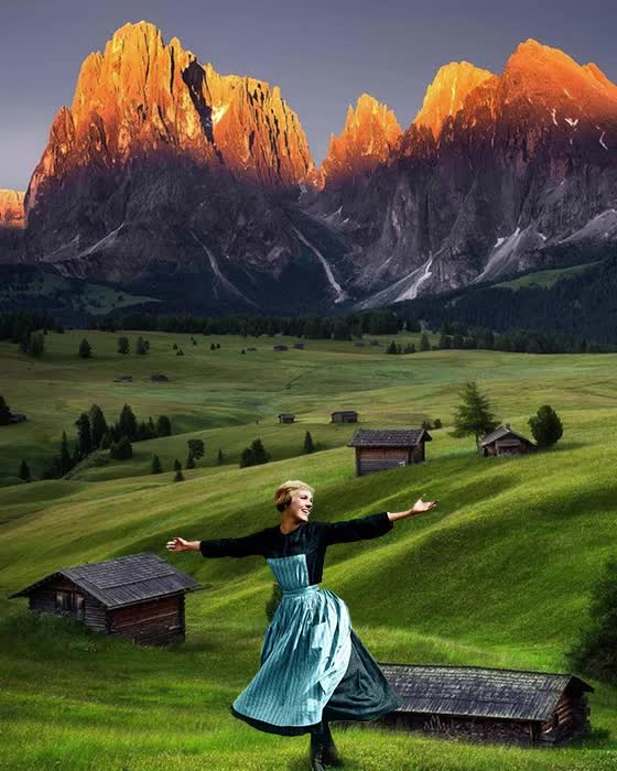 Watch and share The Hills Are Alive With The Sound Of Music GIFs by 2thebreezes on Gfycat