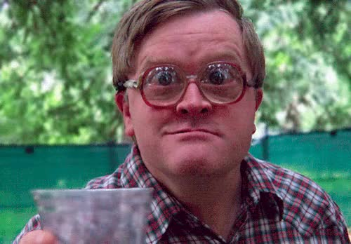 Watch and share Bubbles Glasses Trailer Park Boys GIFs on Gfycat