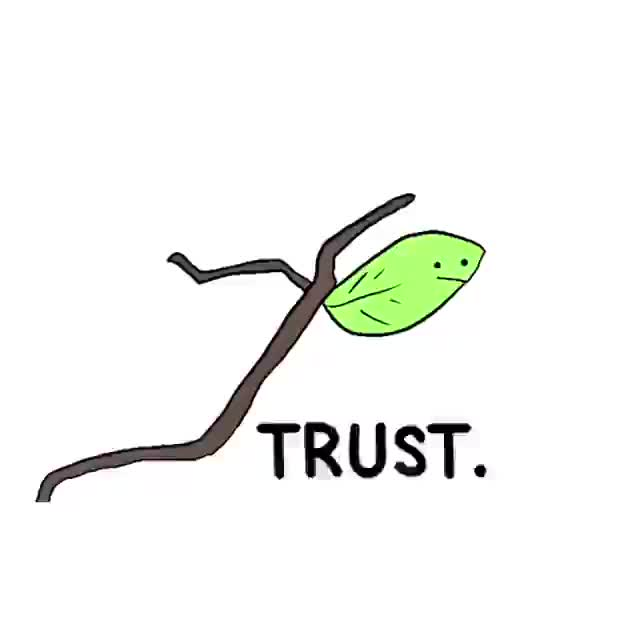 Trust: doodle created by @viakavish GIFs