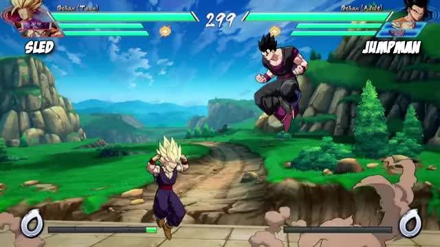Watch and share Dragon Ball Fighter GIFs and Dbfz High Lvl Play GIFs by volienzo on Gfycat