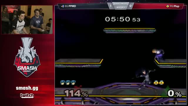 PPMD vs Plup - Singles LB - Smash Summit