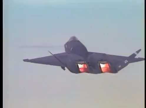 Watch and share YF-23 The World's Only INVISIBLE Airplane GIFs on Gfycat