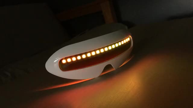 Watch FuturemanGaming Neopixel Visor 4 GIF by Naaackers (@nackers) on Gfycat. Discover more related GIFs on Gfycat