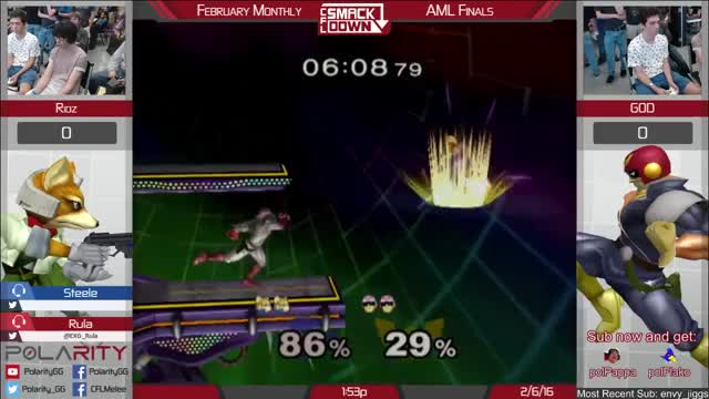 Watch AML Top 16 - Ridz (Fox) vs G0D (CFal) GIF on Gfycat. Discover more games, twitch GIFs on Gfycat