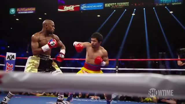 Watch Mayweather takes Pacquiao to school GIF on Gfycat. Discover more People & Blogs, boxing, mayweather, mcdonaldsboxing, pacquiao GIFs on Gfycat