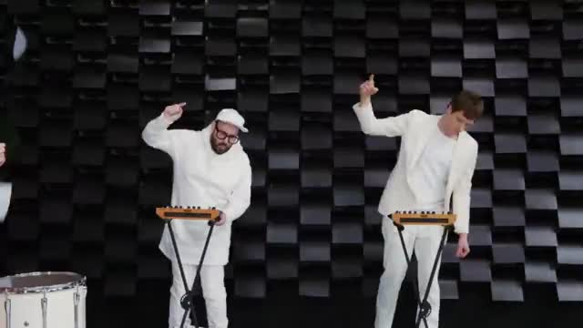 Watch this music GIF by OK Go (@okgo) on Gfycat. Discover more OK Go, concerts, greenpeace, live, music, obsession, official, ok go, paper, printer, video GIFs on Gfycat