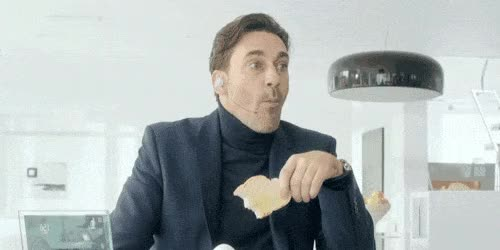 Watch this eating GIF on Gfycat. Discover more eating, jon hamm GIFs on Gfycat