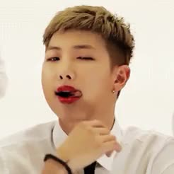 Watch and share Rap Monster GIFs and Bangtan GIFs on Gfycat