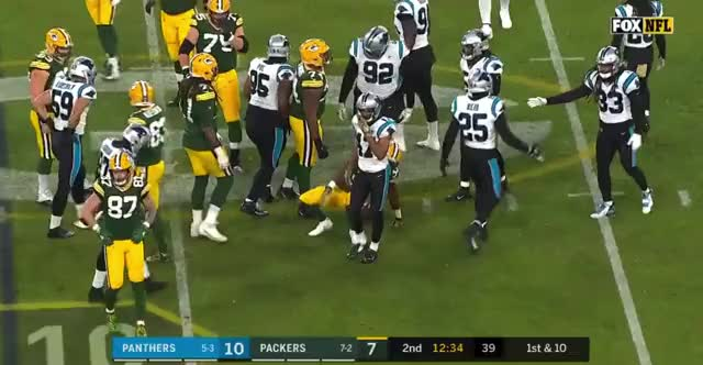 Watch and share Carolina Panthers GIFs and Green Bay Packers GIFs by Matt Weston on Gfycat