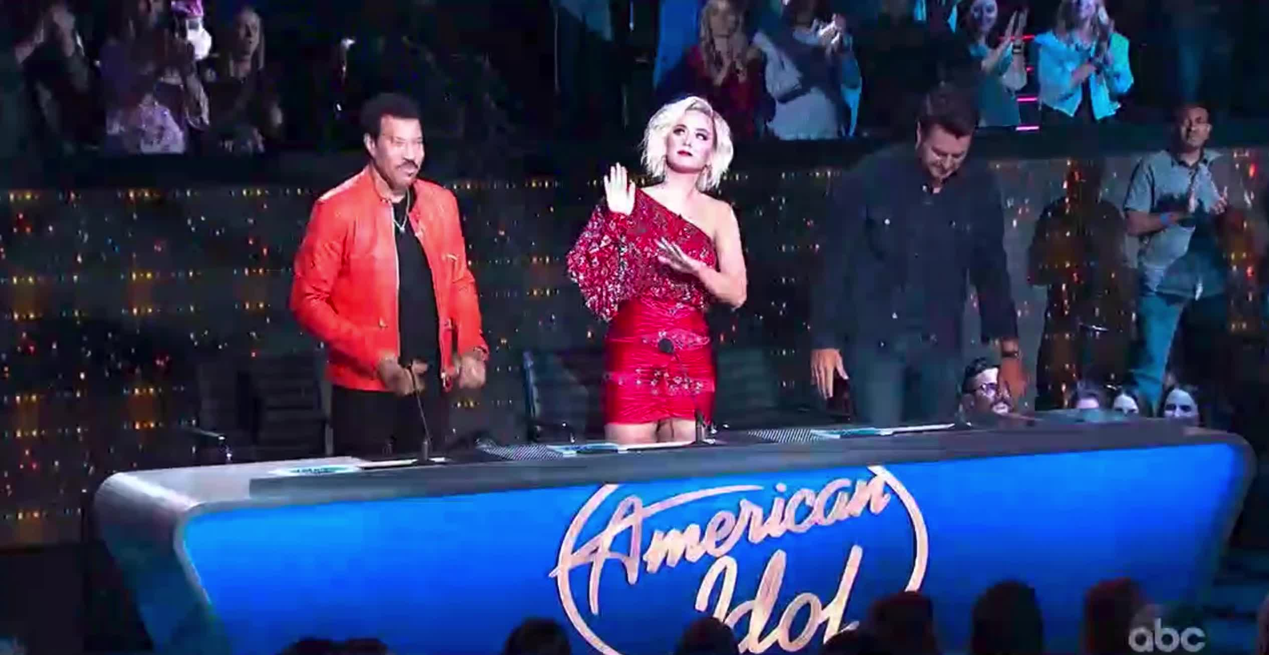 american idol, american idol season 17, americanidol, celebrities, celebrity, celebs, katy perry, lionel richie, luke bryan, ryan seacrest, season 17, American Idol The Judges GIFs