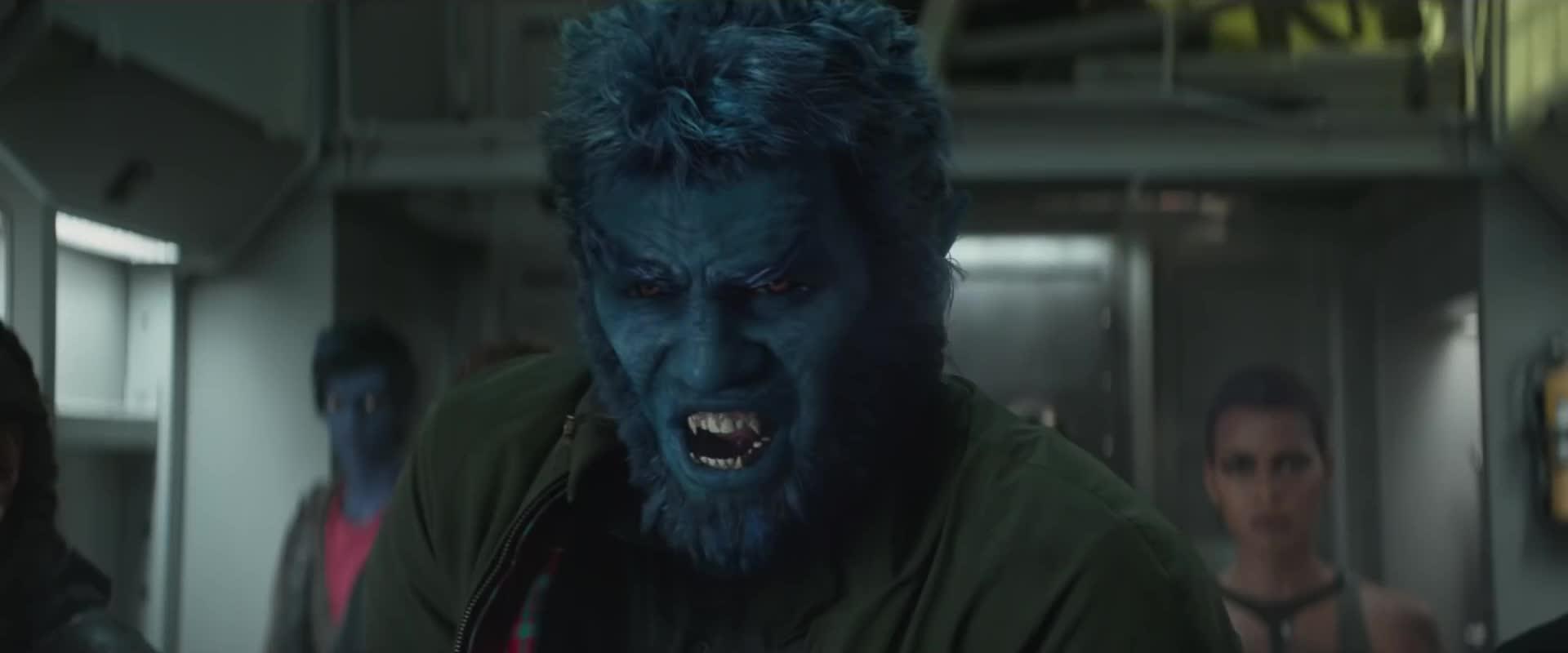 angry, beast, dark phoenix, mad, x men, Dark Phoenix Beast Angry GIFs