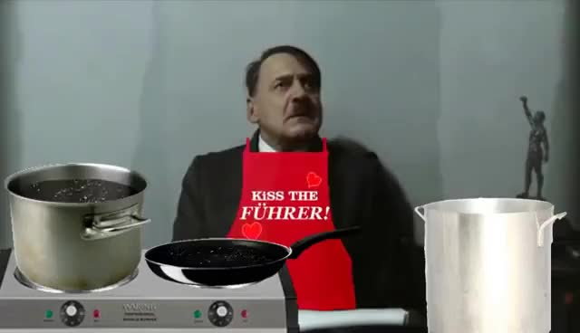 Watch Cooking wit the fuhrer GIF on Gfycat. Discover more hitler rants parodies GIFs on Gfycat