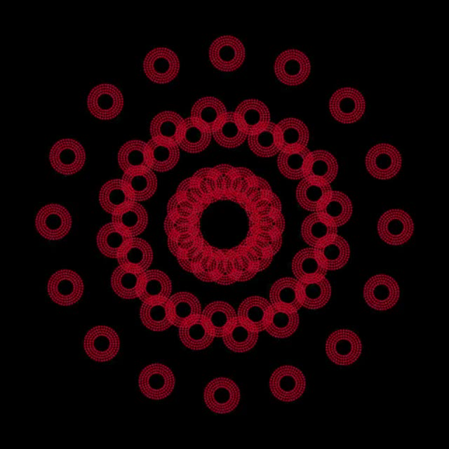 Watch and share Moire Dots Red Final 1 GIFs by Joe Winograd on Gfycat