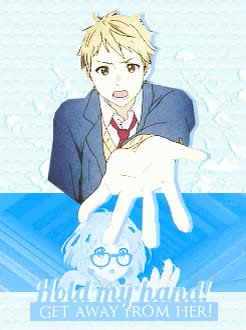 Watch and share Loved Their Battle GIFs and Kyoukai No Kanata GIFs on Gfycat