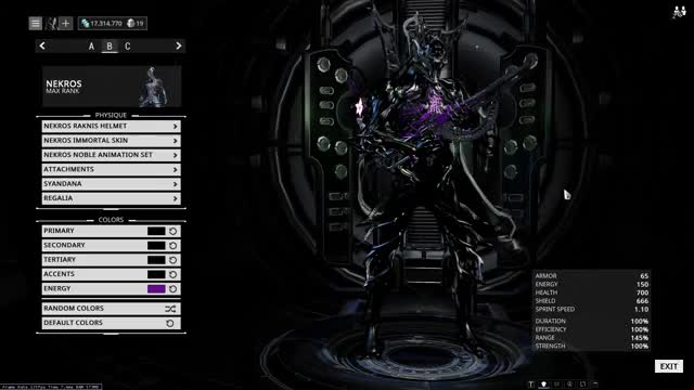 Watch Mystery purple GIF by Triplinster (@triplinster) on Gfycat. Discover more fashionframe, warframe GIFs on Gfycat