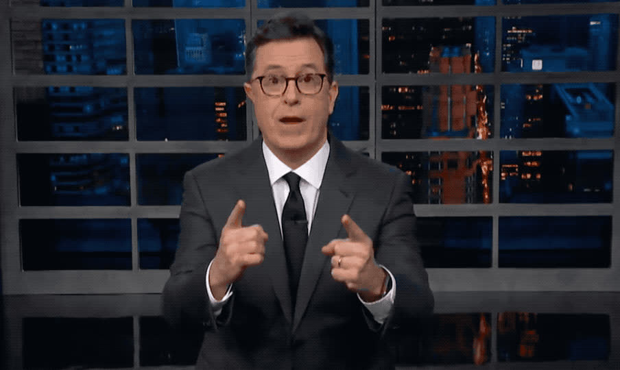 amazed, amazing, awesome, believe, can't, colbert, cool, eyes, god, it, monologue, my, oh, omg, open, stephen, super, surprise, unbelievable, wow, Stephen Colbert - Wow GIFs