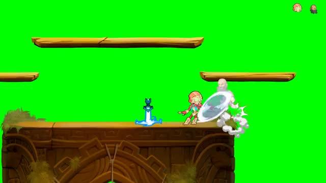 Watch and share Green Screen GIFs and Brawlhalla GIFs by Ya Princess, the Wanderlust on Gfycat