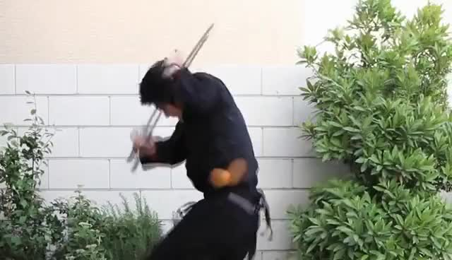 Watch and share Ninja GIFs and Sword GIFs on Gfycat